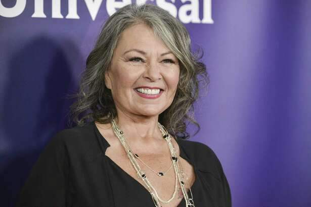 """Roseanne Barr arrives at the NBC Universal Summer Press Day on April 8, 2014 in Pasadena, Calif. The unprecedented sudden cancellation of ABC's TVs top comedy """"Roseanne"""" has left a wave of unemployment and uncertainty in its wake. Barrs racist tweet and the almost immediate axing of her show put hundreds of people out of work."""