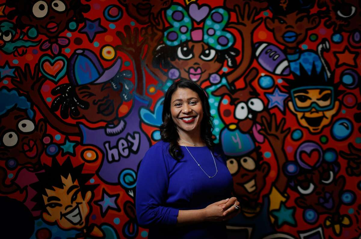 San Francisco Board of Supervisors President and mayoral candidate London Breed, visits the African American Art & Culture Complex in San Francisco, Calif., on Monday, March 12, 2018. As a child, Breed grew up in the Western Addition neighborhood and spent a great deal of time at the complex, eventually becoming the executive director and overseeing its major renovation.