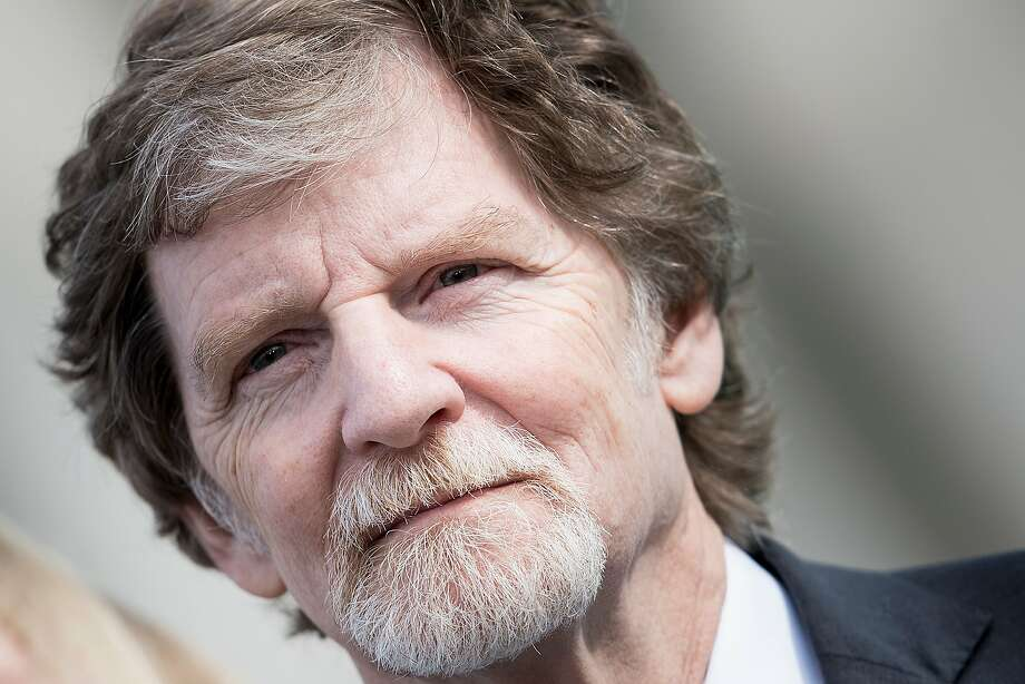 Bakery owner Jack Phillips said being forced to bake a cake for a same-sex wedding would violate his rights. Photo: Brendan Smialowski / AFP / Getty Images