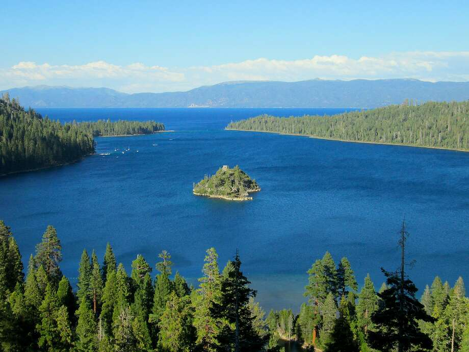 The view of Emerald Bay and Lake Tahoe from Inspiration Point at Emerald Bay State Park Photo: Tom Stienstra, Tom Stienstra / The Chronicle