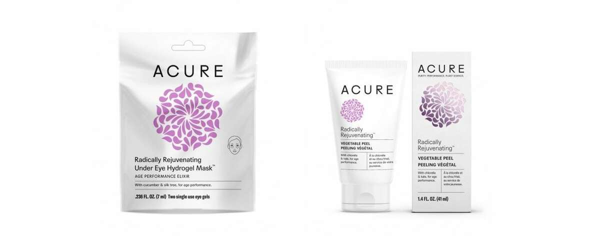 Acure sells organic face scrubs and hair products, some of which were made at the Cambridge N.Y. facility run by the Twelve Tribes sect.