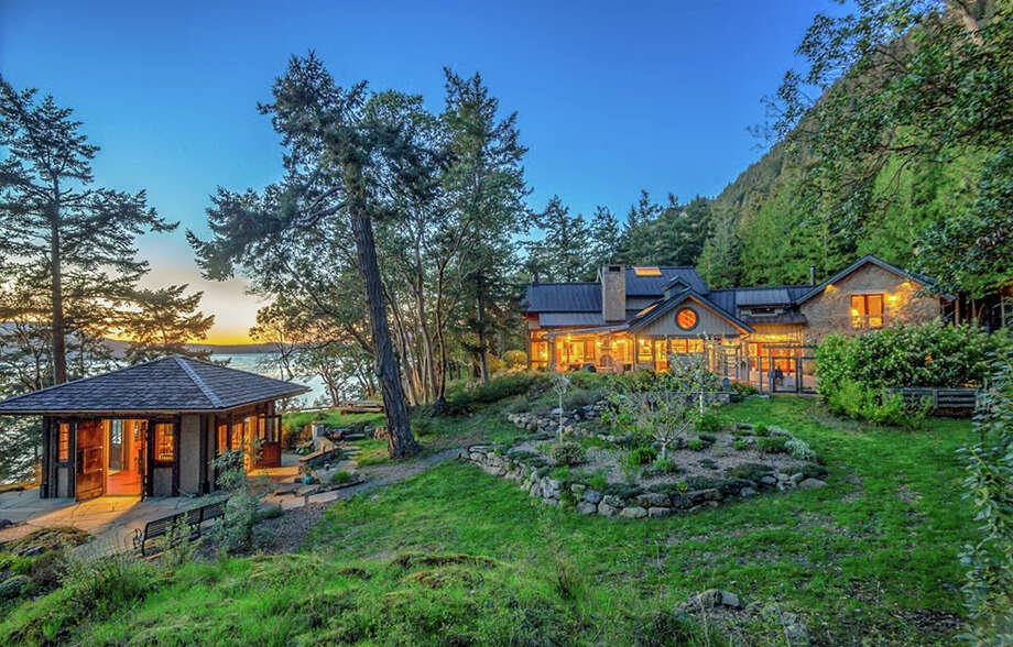 TMZ reports that Oprah bought the Orcas Island estate known as Madroneagle for $8.275 million. The 43-acre property comes with a 7,303 square-foot main house, a guest house, a gazebo, barn, sauna, craft shed and a beachfront. There's also a pond, stream and Asian garden. Photo: Windermere