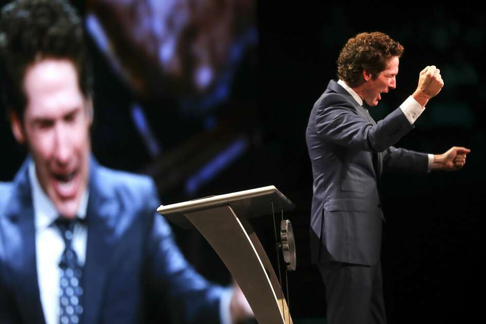 "Minister Joel Osteen holds ""A Night of Hope"" event on Saturday, Oct. 28, 2017, in Los Angeles."