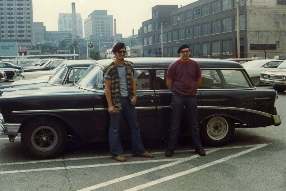Jerry and Allen from Danbury, Conn. are pictured here in Toronto in 1969. Photo: Doug McClement