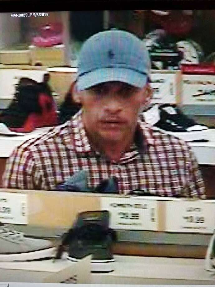 Detectives are seeking the public's assistance with identifying a man who was involved in a theft at the Marshalls on Westport Avenue. During the theft, he was confronted by loss prevention worker. The male then pulled out a pair of scissors and threatened the employee. Photo: /