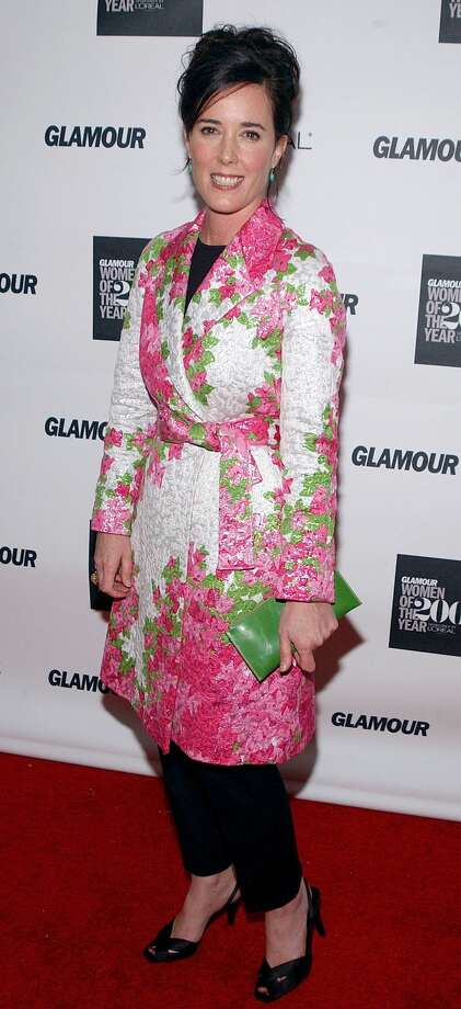 NEW YORK - OCTOBER 28: Designer Kate Spade attends the 13th Annual Glamour Women of the Year Awards on October 28, 2002 at the Metropolitan Museum of Art in New York City. (Photo by Mark Mainz/Getty Images) Photo:  (Photo By Mark Mainz/Getty Images)