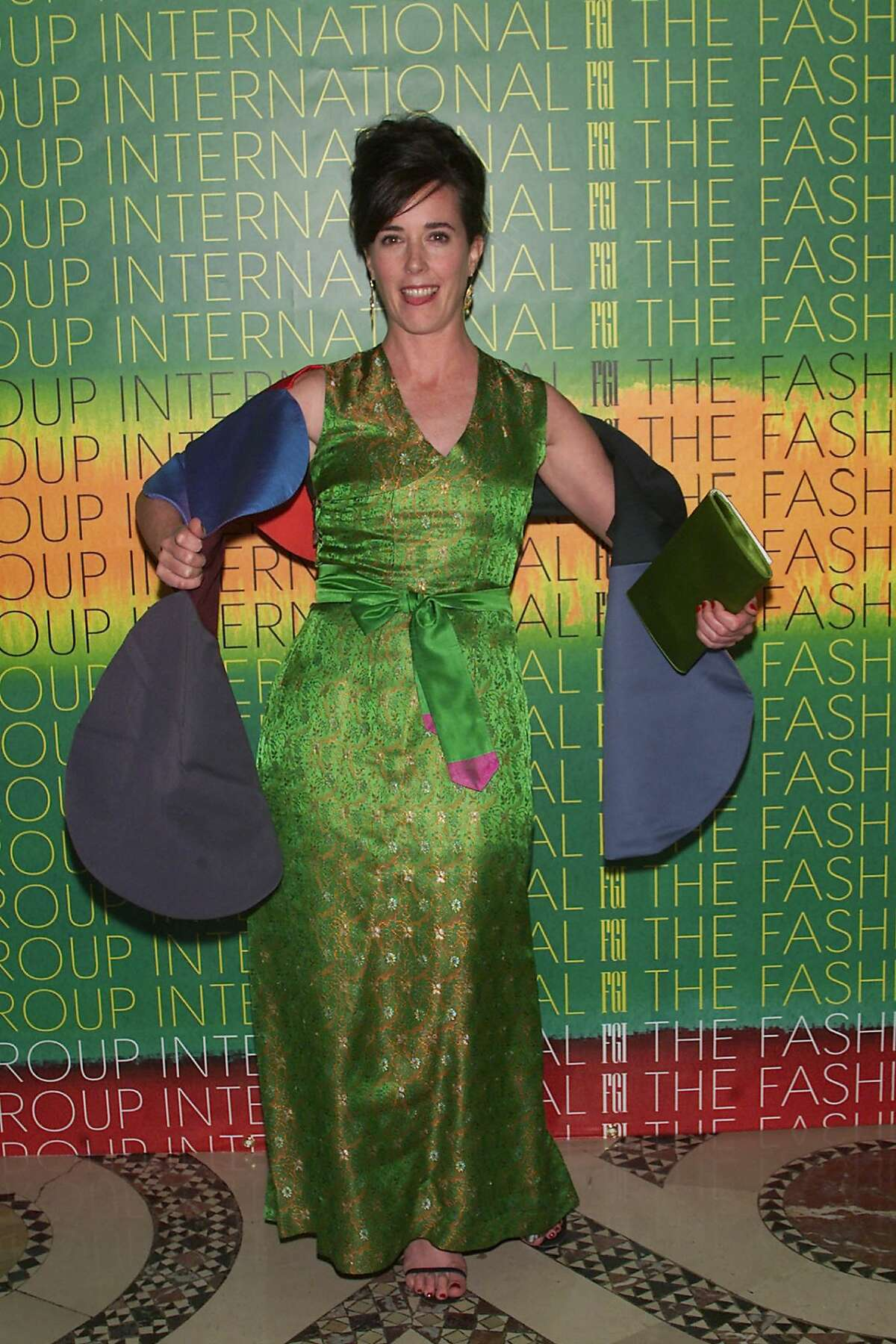 Spade at The Fashion Group International 'Night Of Stars 2001: Dynasty - Generations of Design' awards gala at Cipriani 42nd St. in New York City. 10/24/2001. Photo: Evan Agostini/ImageDirect.