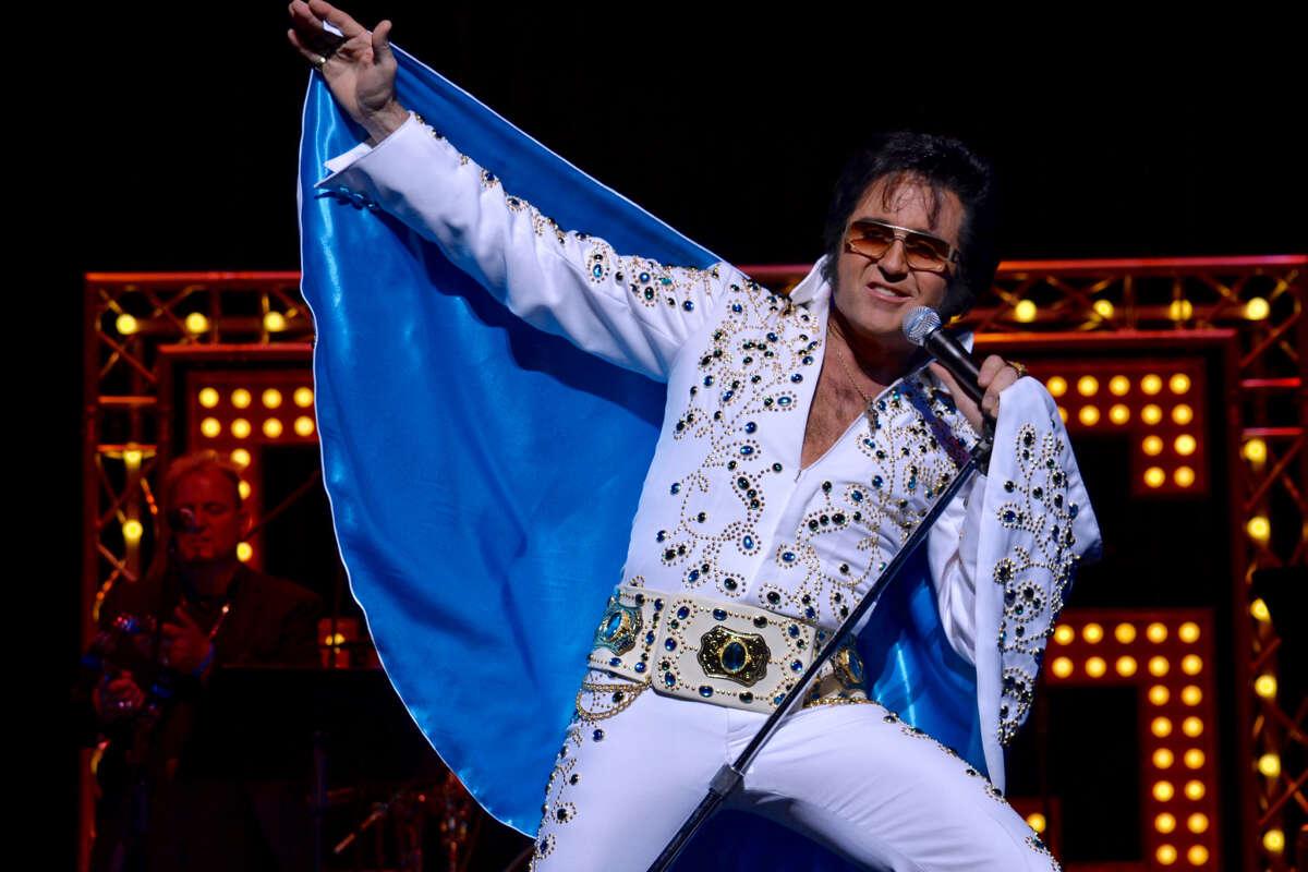 Kraig Parker (Elvis impersonator) Friday, Sept. 28. 8:30 p.m.