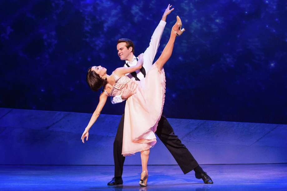 "Allison Walsh and McGee Maddox star in the national touring production of ""An American in Paris"" that's headed for the Majestic Theatre. Photo: Courtesy Matthew Murphy"
