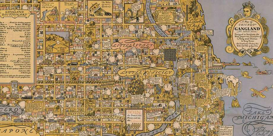 A rare 1931 map of Chicago\'s Gangland could be yours for ...