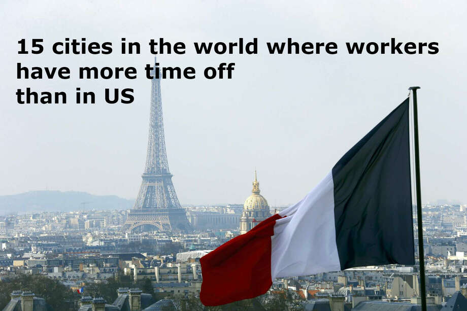 15 cities in the world where workers get far more time off than in US