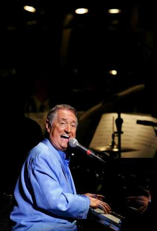 Singer Neil Sedaka will perform Wednesday evening at the Pops in the Park concert series in Columbus Park in Stamford. Photo: Getty Images / 2008 Getty Images