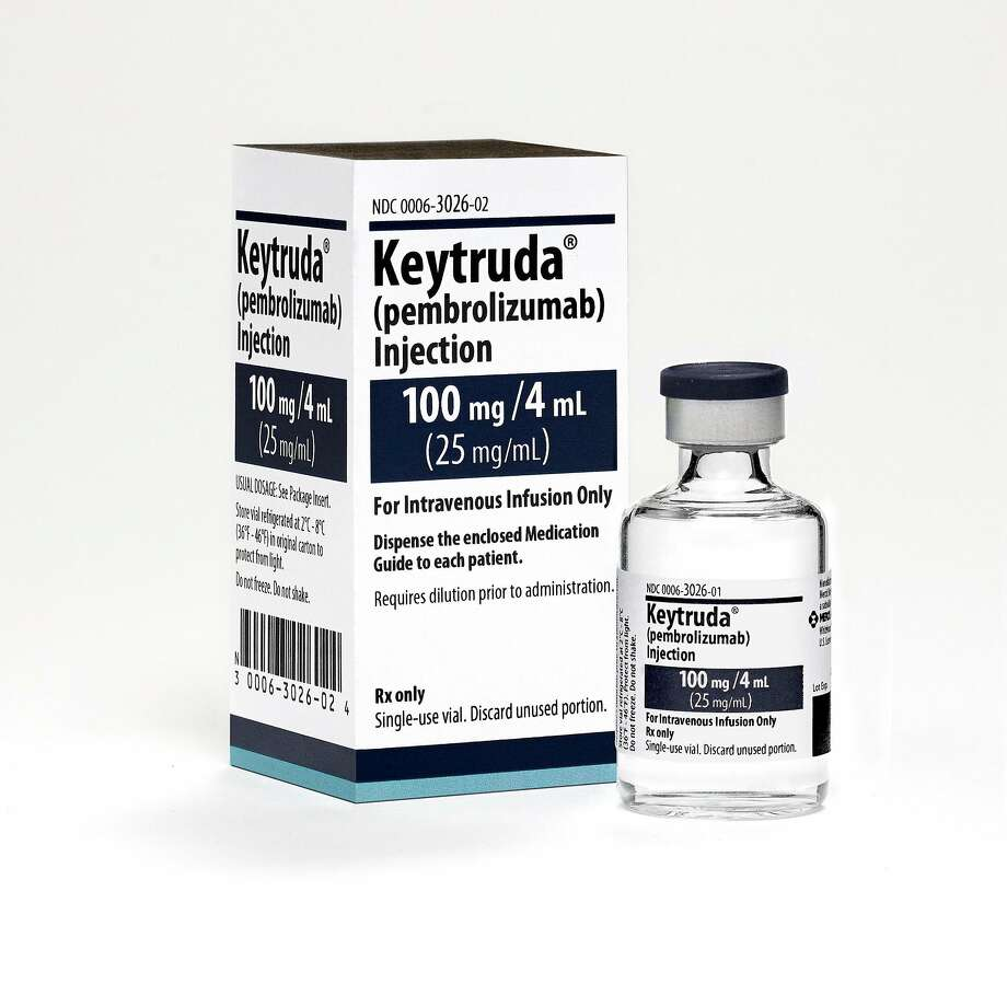 The findings on Keytruda will probably expand its use as a first-line treatment for advanced small-cell lung cancer. Photo: Michael Lund / Merck Global Creative Studios