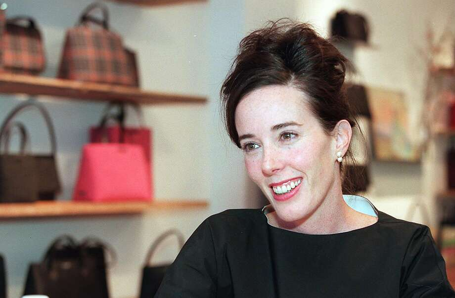 667b21a34d23 American designer Kate Spade in New York in 1999. Spade was found dead at  her