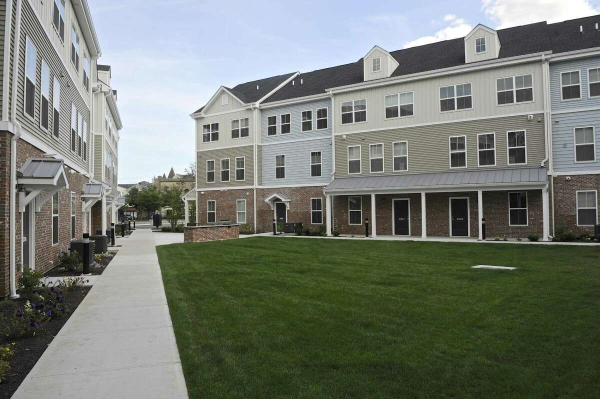 Danbury Mayor Mark Boughton has an apartment in Kennedy Flats in downtown Danbury, where the pool and exercise gym might come in handy.