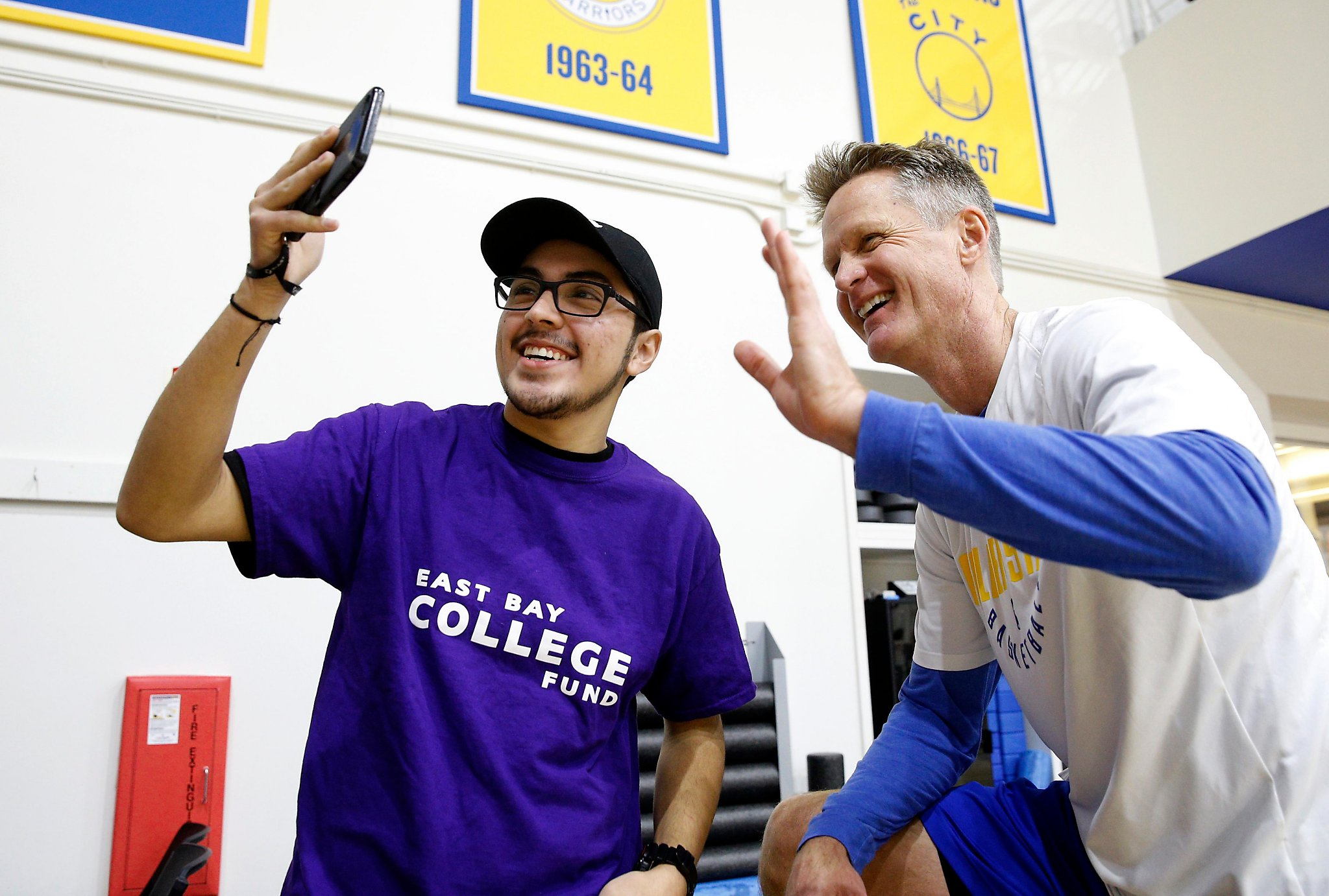 Steve Kerr s other team  East Bay students headed for college -  SFChronicle.com 7735d1315