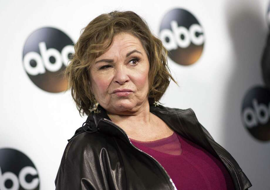 Canceling Roseanne Barr's highly rated show on ABC didn't take guts. Her racist attitudes should have not come as a surrise to the network. Photo: VALERIE MACON /AFP /Getty Images / AFP or licensors