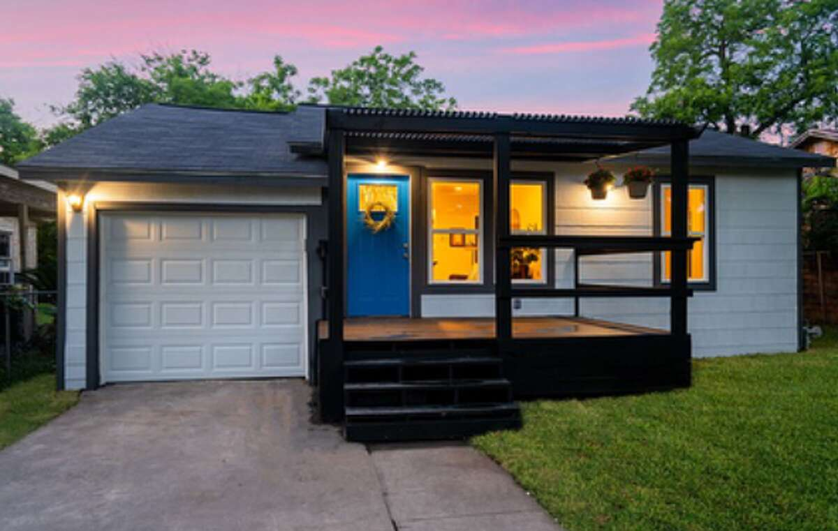 AFTER: San Antonio house-flipper Joshua De Los Santos has spent the last year renovating four homes in the downtown area. His latest is a home at 335 Fairview.