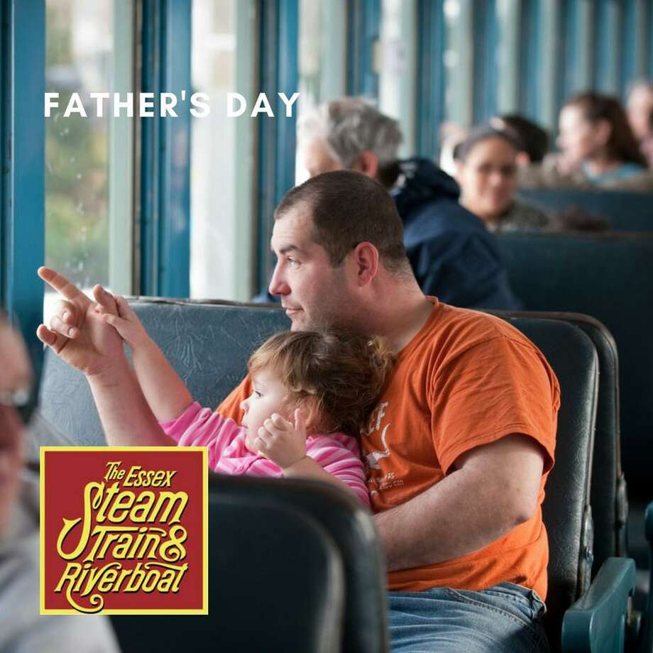 Fathers can enjoy a day at Essex Steam Train on June 17. Photo: Contributed Photo