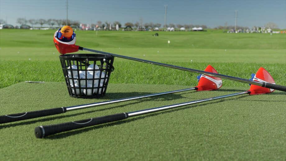 Swing Coach golf training tool.
