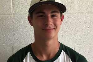 Guilford baseball player Evan Song.