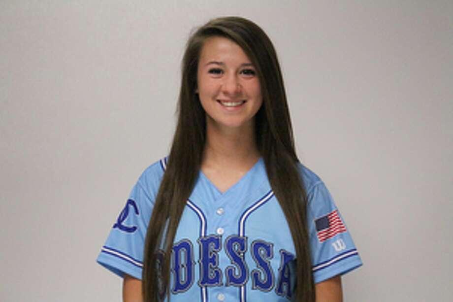 Odessa College softball player Brooke Ryan.