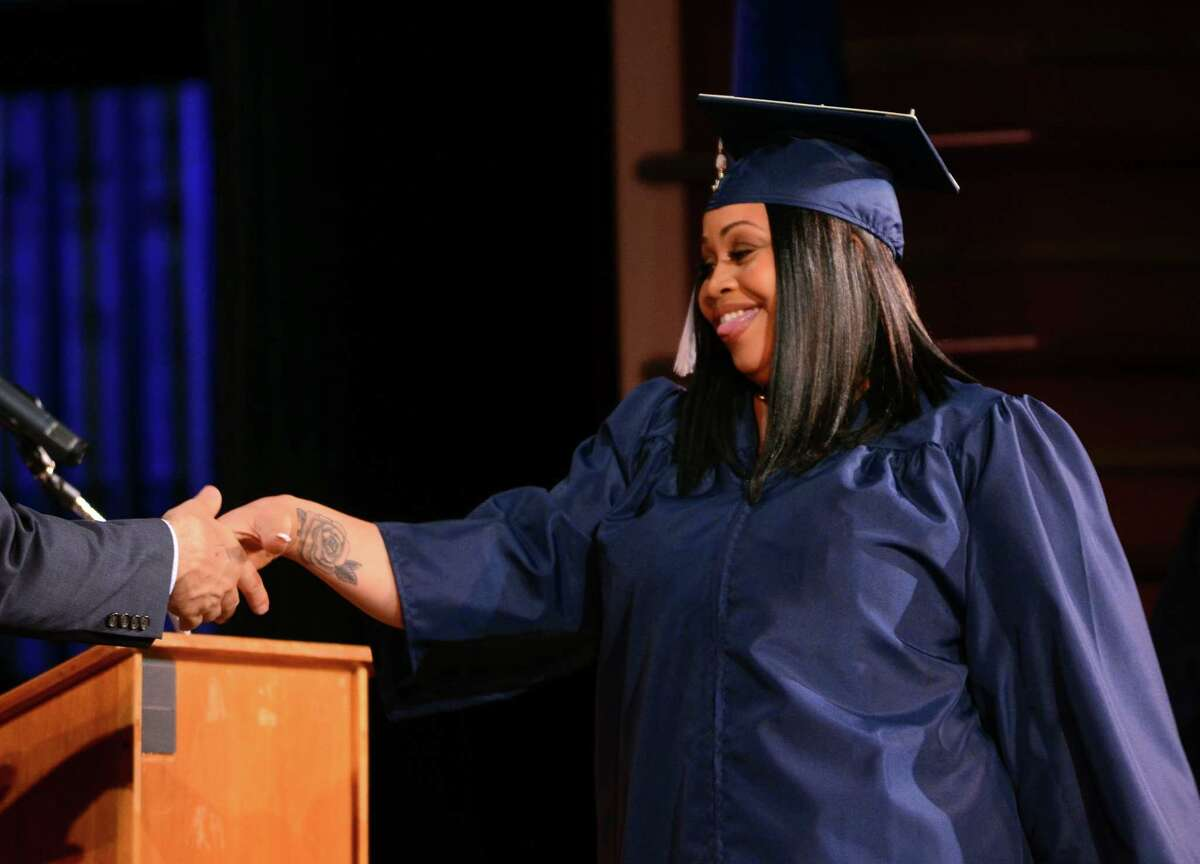 Bridgeport Adult Education Graduation at the Klein Memorial Auditorium in Bridgeport, Conn., on Tuesday, June 5, 2018.
