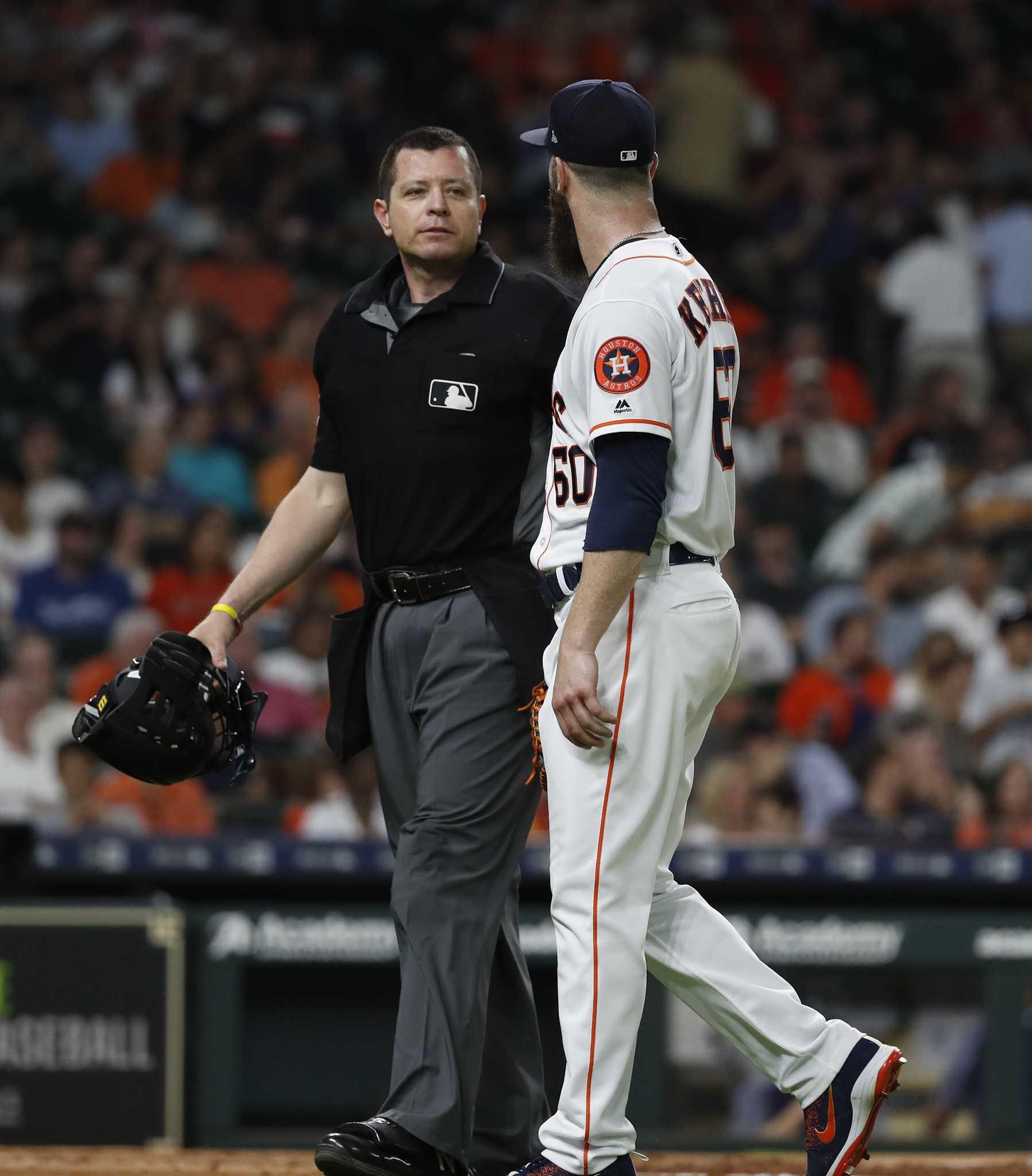 Dallas Keuchel Struggles In Astros Loss To Mariners