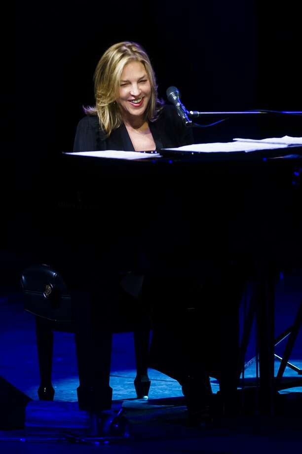 Diana Krall performs at the Midland Center for the Arts Tuesday, June 5, 2018. (Katy Kildee/kkildee@mdn.net) Photo: (Katy Kildee/kkildee@mdn.net)