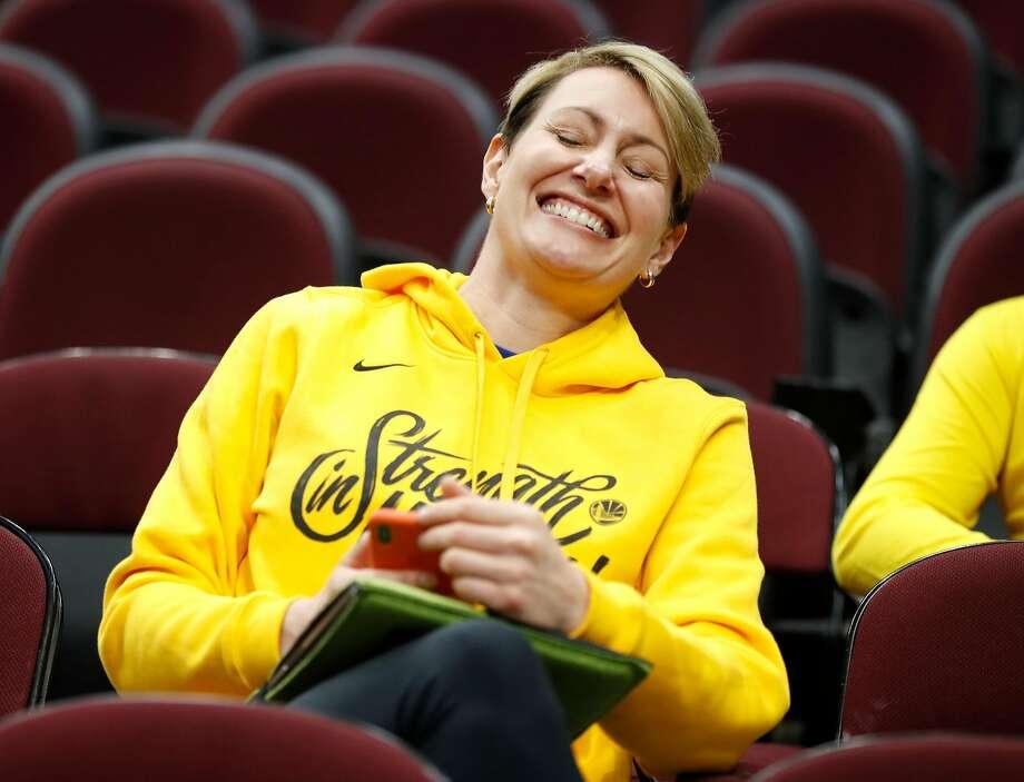 Head performance therapist Chelsea Lane to leave Warriors ...