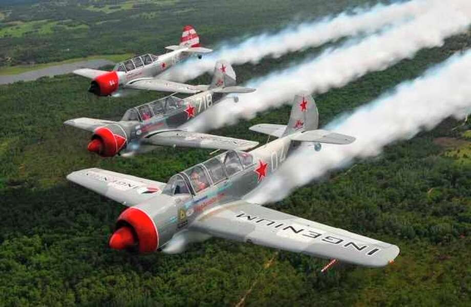 Phillips 66 Aerostars formation-flying squadron (photo provided)