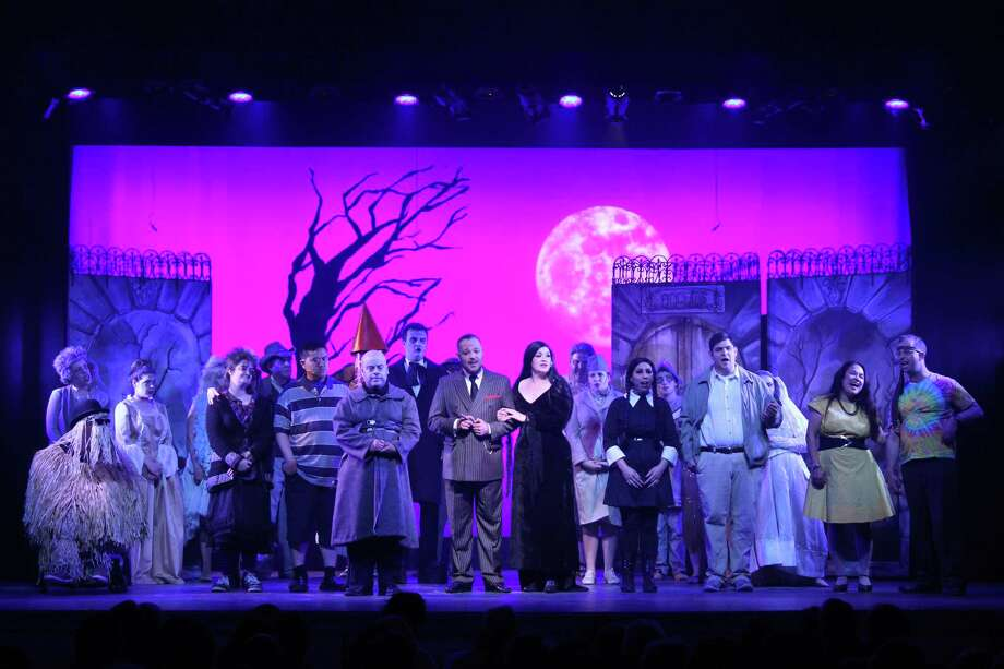 "The recent ""Addams Family"" musical at The Kate in Old Saybrook marked Vista's fifth all-abilities musical production and the first to debut under its recently established performing arts program, A Shared Stage Productions. Photo: Contributed Photo"