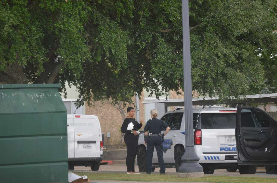 "A male is in stable condition after suffering ""several gunshot wounds"" at Avery Trace Apartments in Port Arthur Tuesday, June 5, 2018.