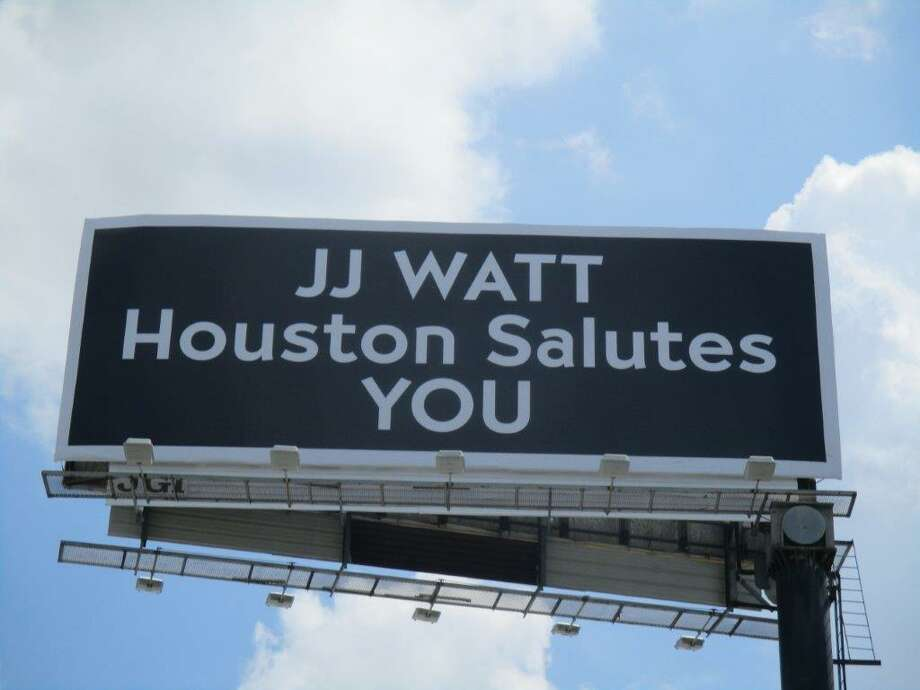 Recently Houstonians driving along the Southwest Freeway have noticed a billboard honoring Watt, set northbound along the freeway. The sign was the brainchild of 740 AM KTRH talk show host Michael Berry who wanted to do something to thank Watt for his service to the community.
