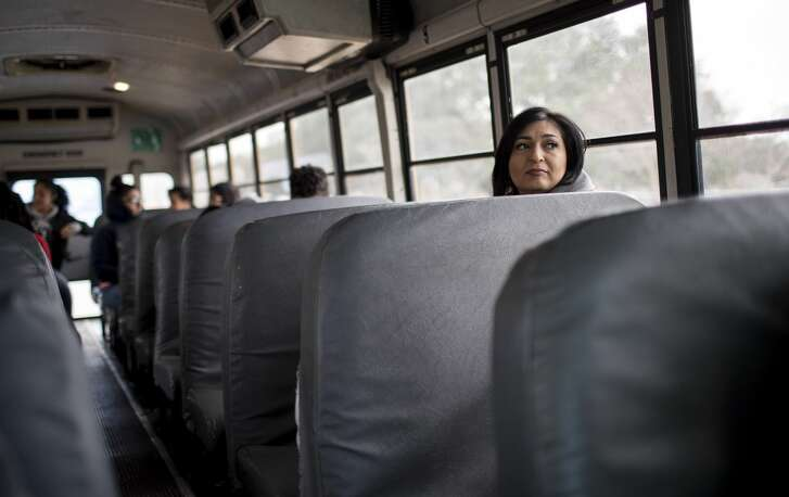 As a middle college principal, Diana Del Pilar aims to make all her graduates college ready. Here, they take a field trip to a nearby Houston community college campus to learn about how to be prepared for the next step after high school graduation.