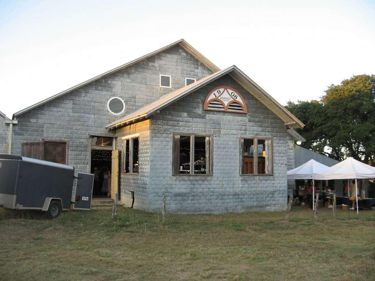 Anhalt Hall, 2390 Anhalt Road north of Texas 46, just west of Bulverde