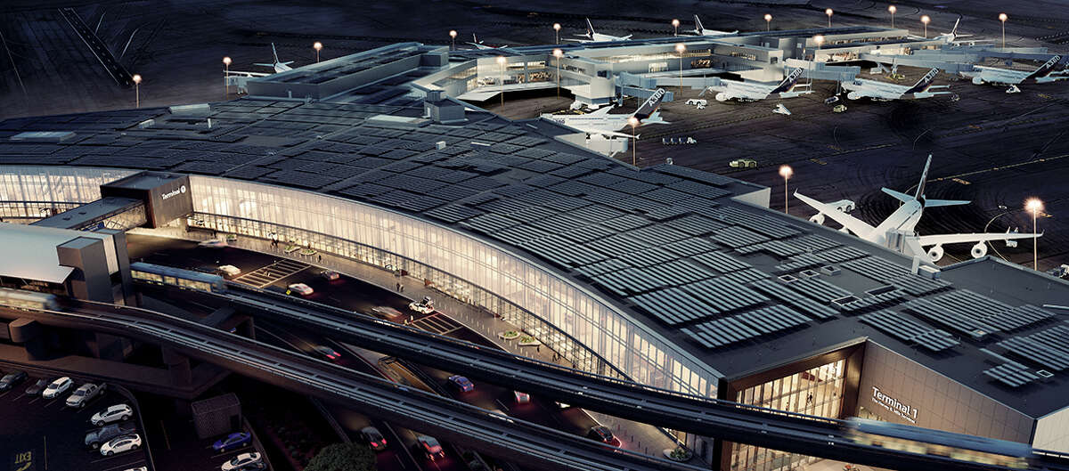 New renderings show how SFO's Terminal 1, the Harvey Milk Terminal, will appear when complete in 2020