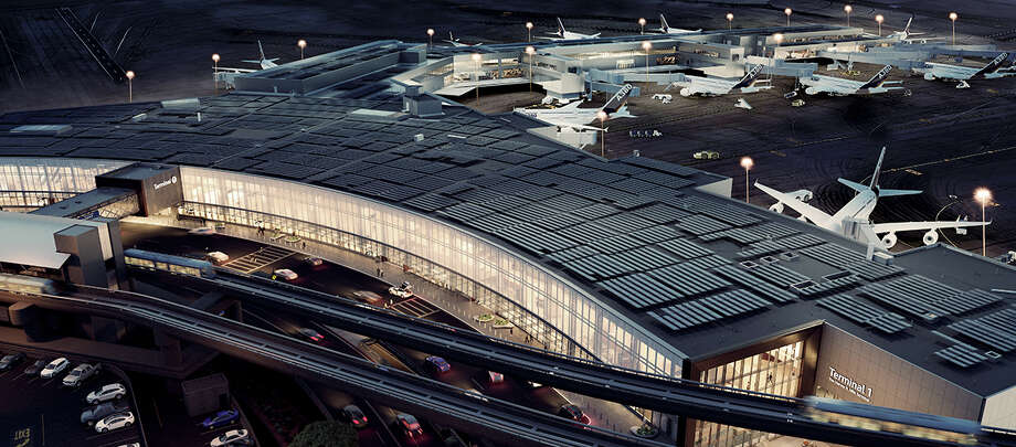 New renderings show how SFO's Terminal 1, the Harvey Milk Terminal, will appear when complete in 2020 Photo: San Francisco International Airport