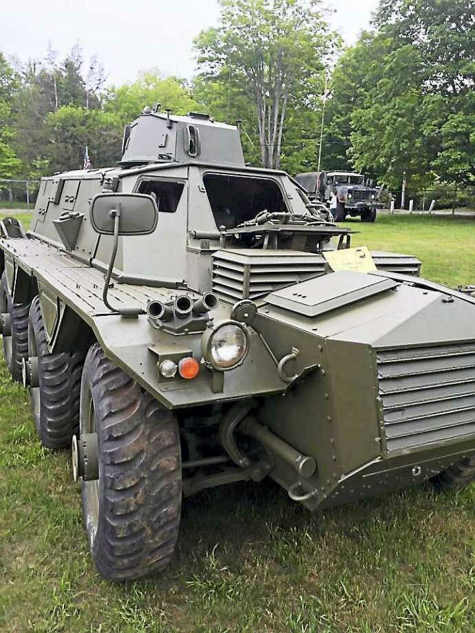 The Chester Fairgrounds will host a military vehicle show Saturday. Photo: File Photo