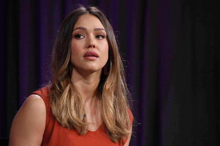 Jessica Alba in May 2018 during a panel discussion sponsored by Dow Jones in New York City. (Photo by Michael Loccisano/Getty Images) Photo: Michael Loccisano / Getty Images / 2018 Getty Images