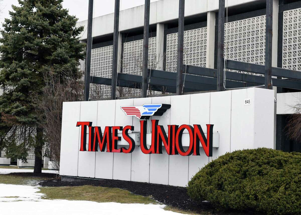 Some editions of Thursday's Times Union were missing some of the obituaries. Readers can find obituaries on the links included in the story below. (John Carl D'Annibale / Times Union)