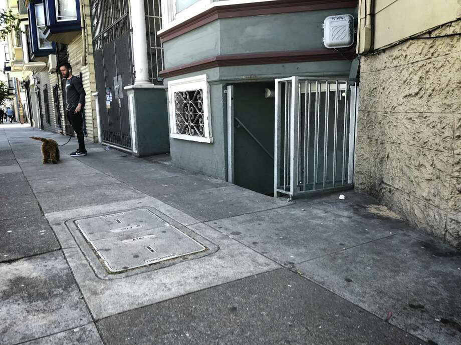 A woman was found dismembered in a storage unit under a Mission District apartment on Saturday. Police arrested 47-year-old Lisa Gonzales on suspicion of murder. Photo: The Chronicle