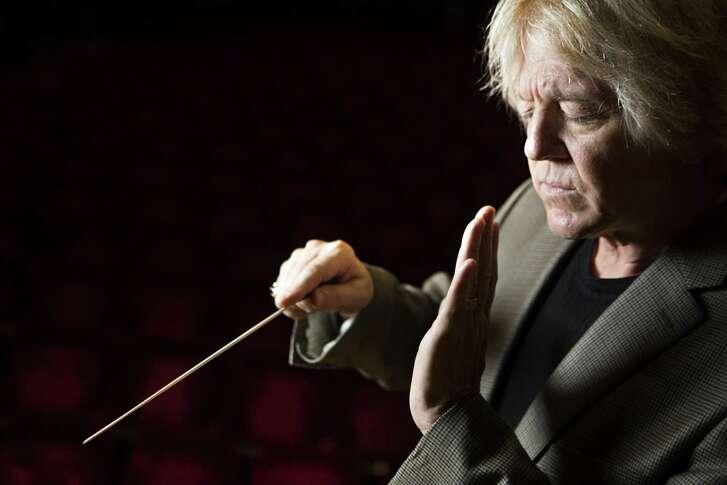Moores School of Music Director of Orchestral Studies Franz Anton Krager.