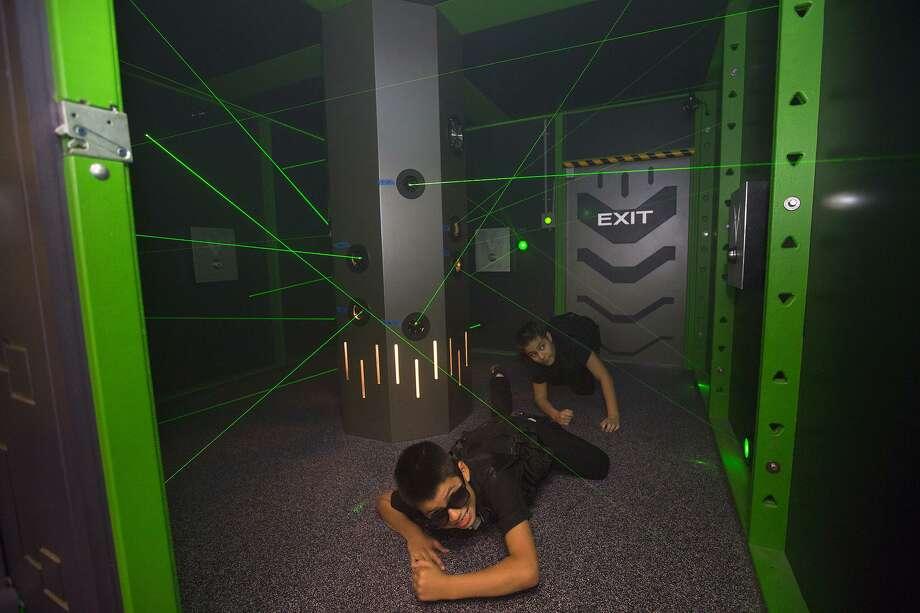 S.E.C.R.E.T. is a spy exhibit at the Children's Museum of Houston. Photo: Courtesy Photo / Courtesy Photo