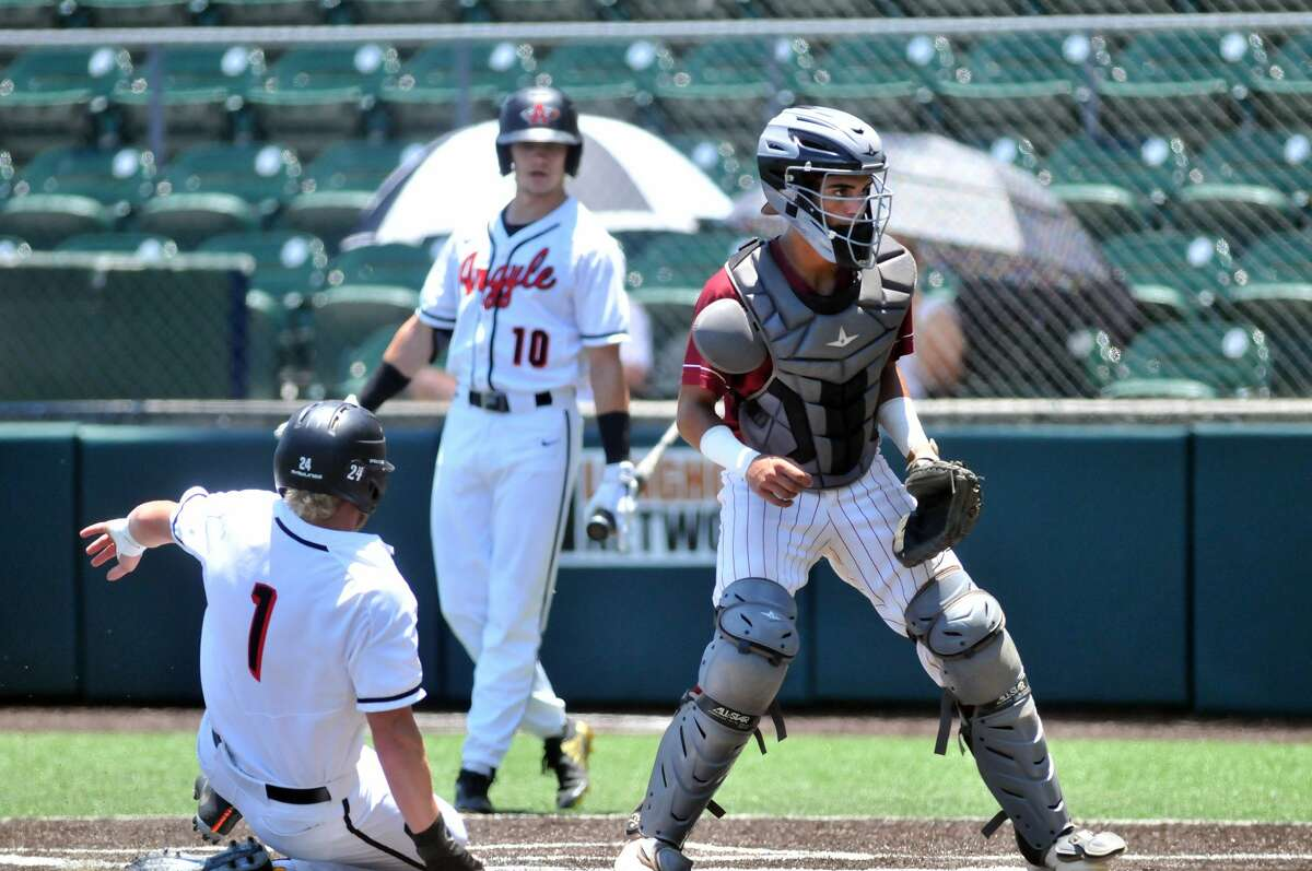 The Jasper baseball team faces Argyle in the Class 4A state semifinal game in Austin Wednesday, June 6, 2018. Photo: Mike Tobias/The Enterprise