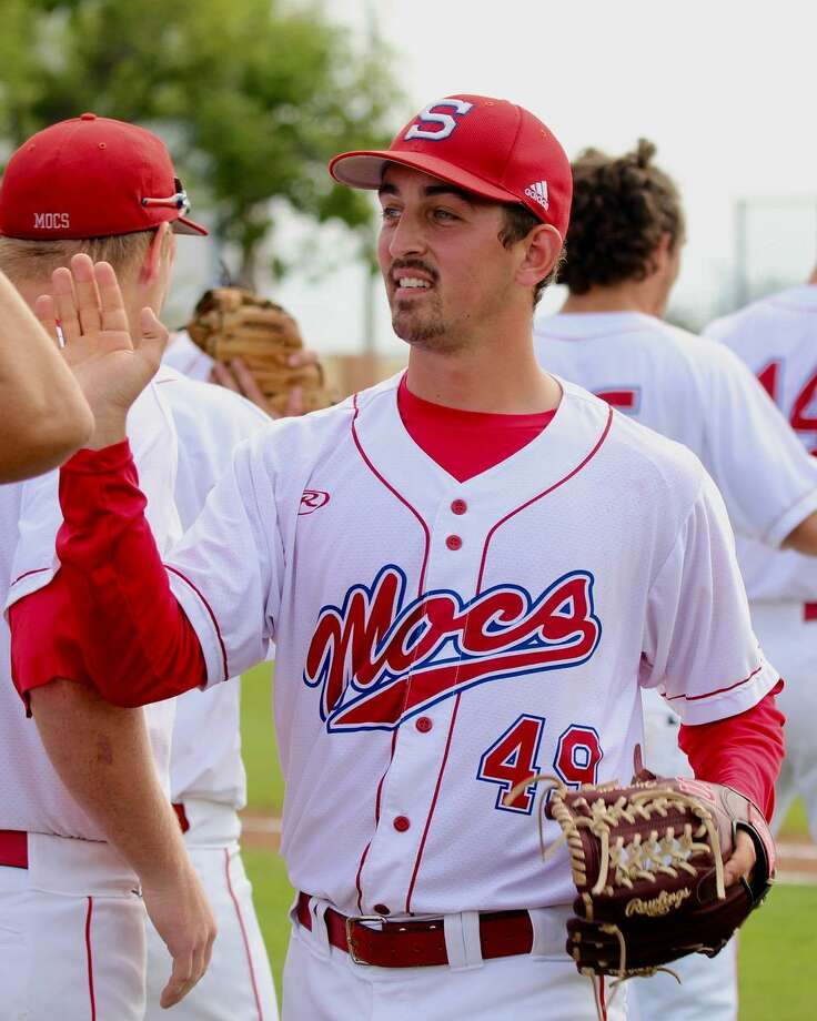 Florida Southern College pitcher J.T. Hintzen, an Old Greenwich native, was chosen by the Milwaukee Brewers in the 10th round of the MLB Draft on Tuesday, June 5, 2018. Photo: Mikaela Queen / Florida Southern College / Contributed Photo / Stamford Advocate Contributed