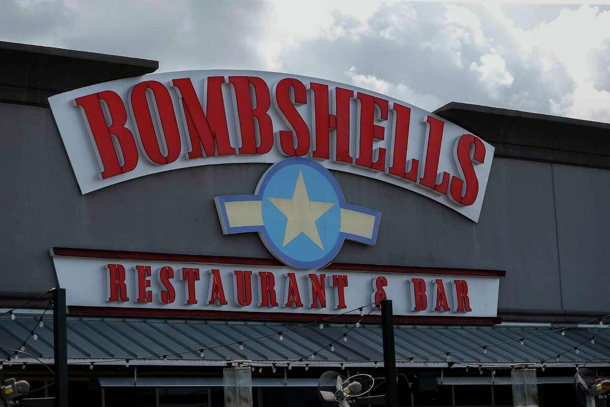 18. Bombshells Address: 12810 Gulf Freeway Total receipts: $215,353