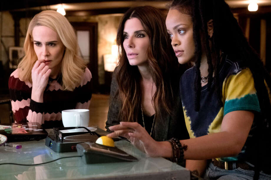 """""""Oceans 8"""" was the No. 2 movie over the weekend according to domestic box-office figures."""