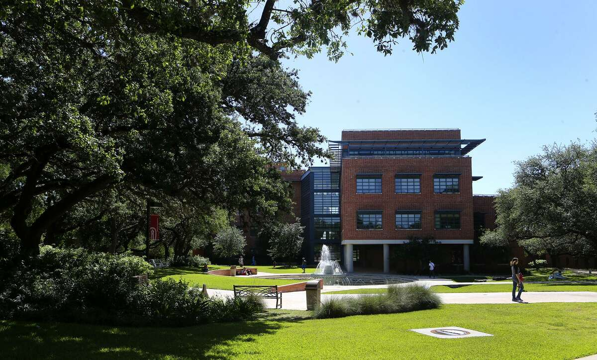 Trinity University pursued a place on the National Register of Historic Places to highlight the architectural work of O'Neil Ford, who designed many of its buildings.