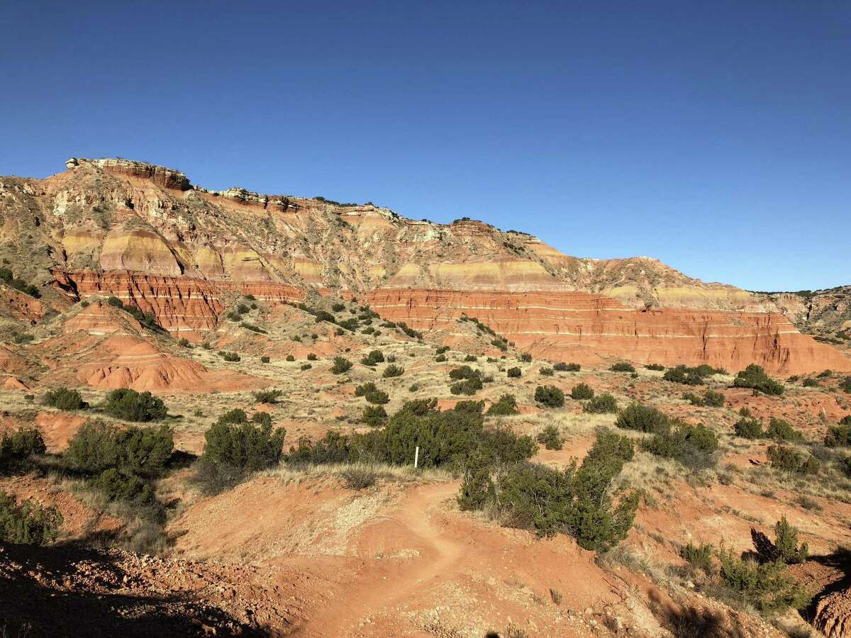 The iconic Lighthouse at Palo Duro Canyon State Park, one of the most recognizable landscapes in all of Texas.